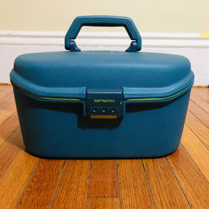 Samsonite Train Case Made in France Vintage
